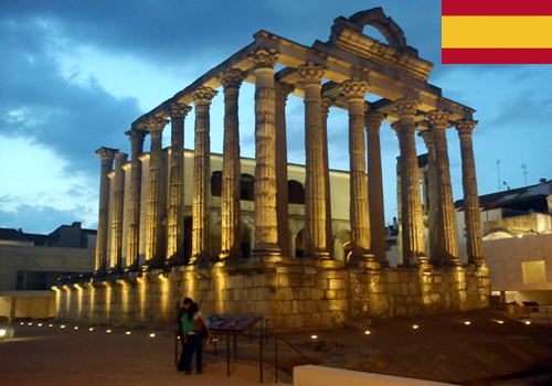 Visitas Guiadas en Mérida en español con Guías de Turismo. Antonio Carrasco
